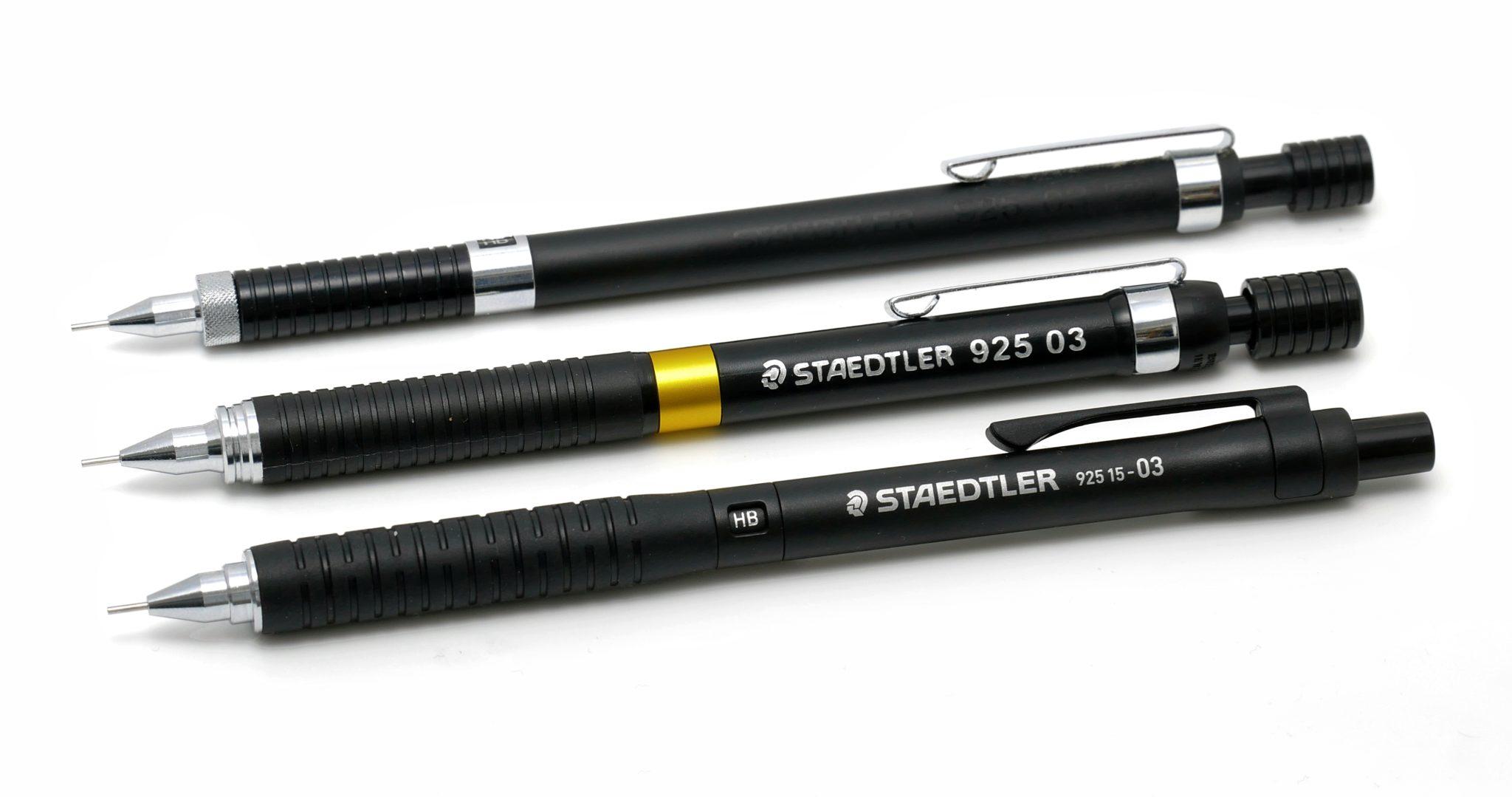 ステッドラーの歴代「925」シャープペンシル